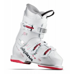 Alpina AJ3 Girl White-Red / 3E621