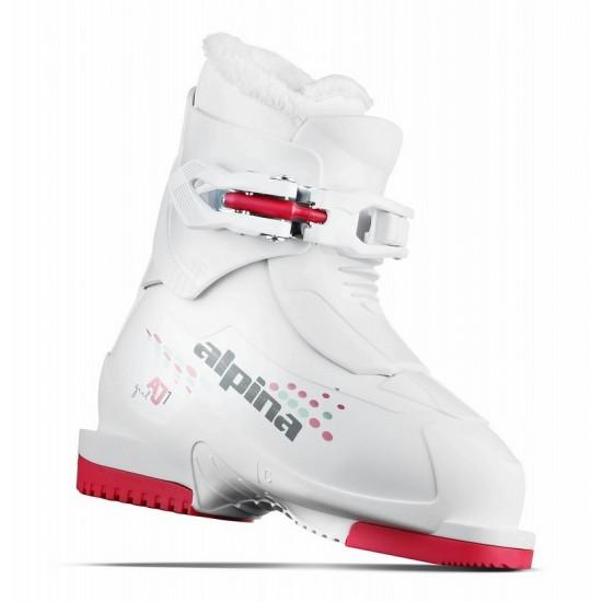 Alpina AJ1 Girl White-Red / 3F211