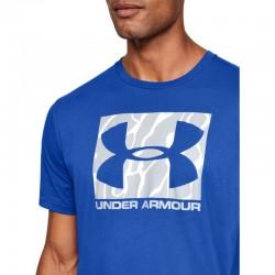 UA Camo Boxed Logo SS