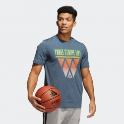 Adidas 3-Stripes Hoops Tee