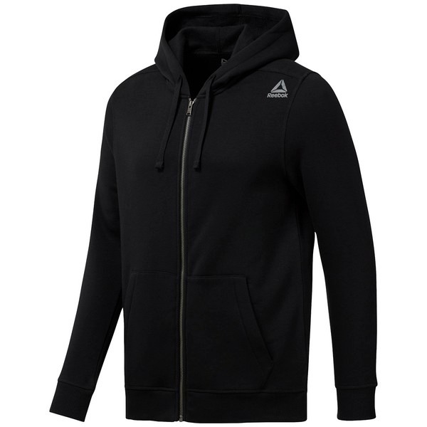 Reebok Elements Full-Zip Hoodie - Black