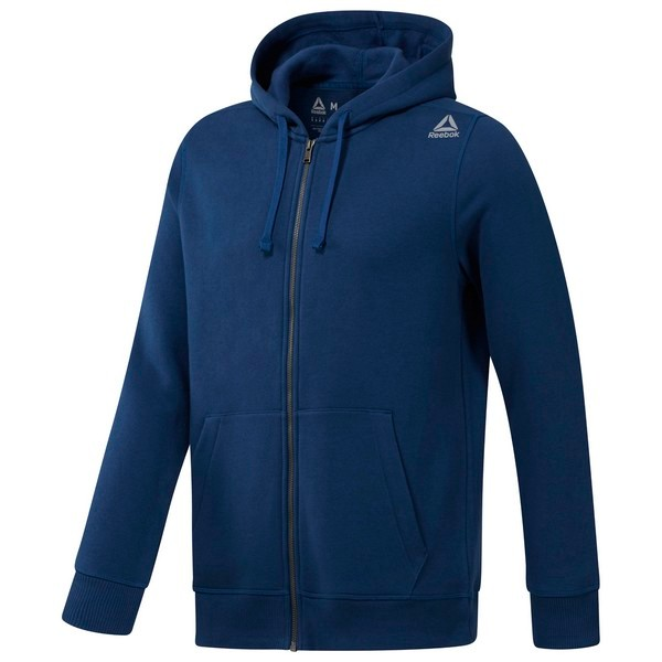Reebok Elements Full-Zip Hoodie - Blue