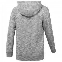 Reebok Marble Melange Full-Zip Hoodie - Grey
