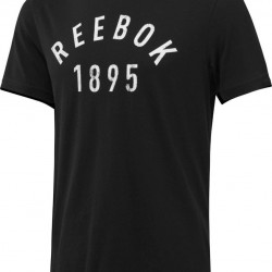 Reebok 1895 Workout T-Shirt - Black
