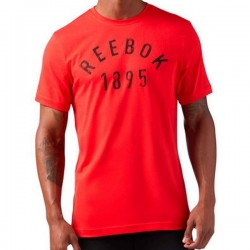 Reebok 1895 Workout T-Shirt - Red