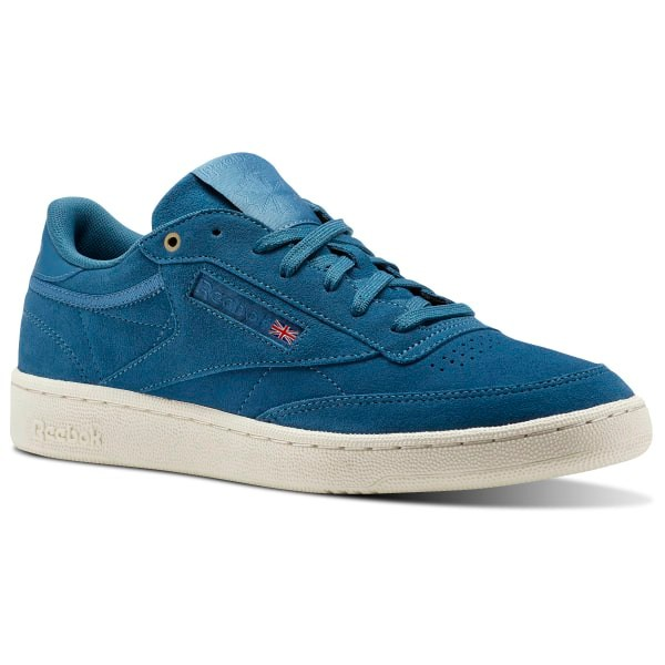 Reebok Club C 85 Montana Cans collaboration - Blue