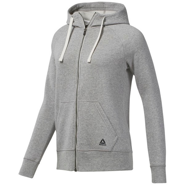 Reebok Training Essentials Fleece Full Zip Hoodie ...
