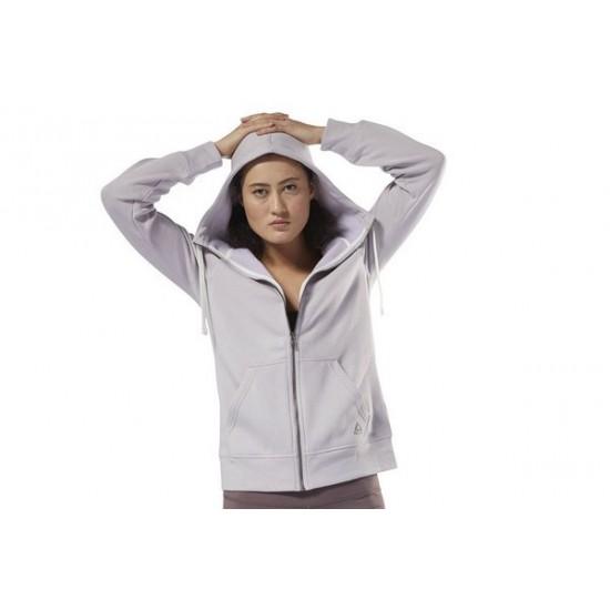 Reebok Training Essentials Full-Zip Hoodie - Purple